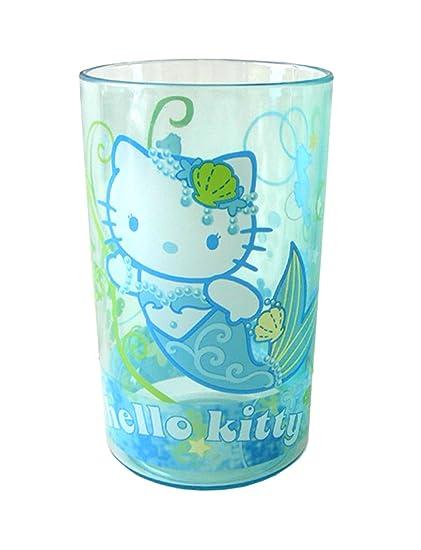 7b68a00a1 Amazon.com: Sanrio Hello Kitty tumbler- Hello Kitty Under the Sea stackable  tumblers (1pc): Toys & Games