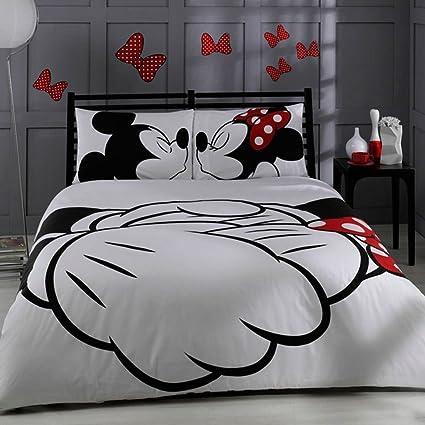 Amazon.com: Disney, Mickey & Minnie in Love, Queen Size: Home