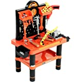 Toy Tool Set Workbench Kids Workshop Toolbench Amazon Co