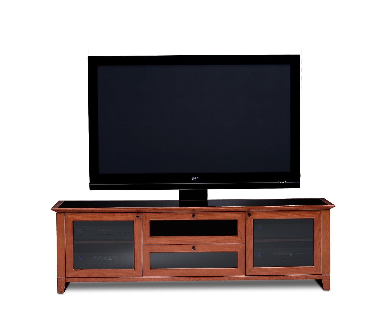 Amazon.com: BDI Novia 8429 2 Triple Wide Entertainment Cabinet, Cocoa  Stained Cherry: Home U0026 Kitchen