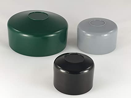 Zaunpfahlkappen 44,5 mm grün Zaunkappen Pfostenkappen Rohrkappen Kappen Kappe