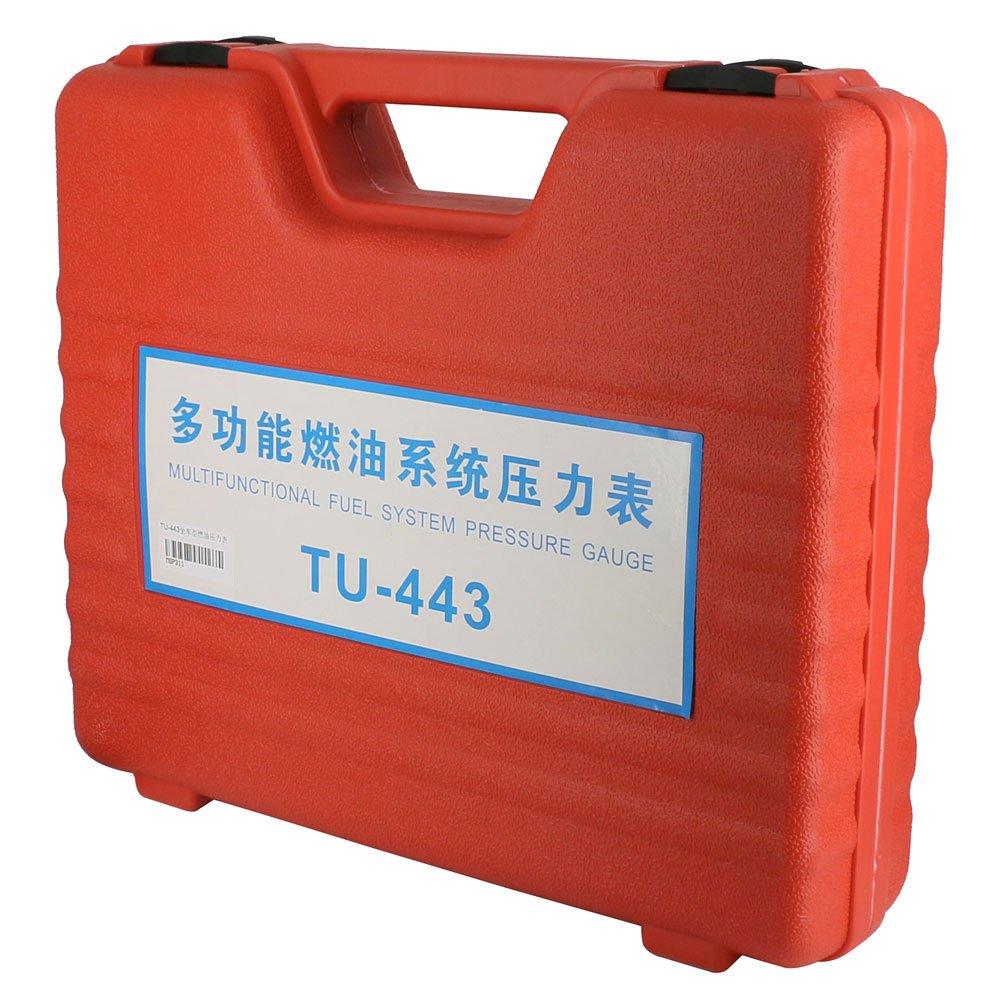 MRCARTOOL TU-443 Multifunction Fuel System Pressure Gauge fuel Injection Pressure Test Gauge Automotive Fuel Pressure Testers by AUTOOL (Image #9)