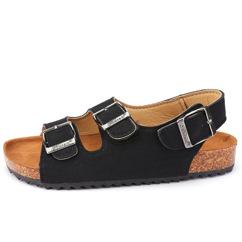 UBELLA Boys Girls Kids Buckle Strap Open Toe Flat Summer Gladiator Sandals Toddler//Little Kid//Big Kid