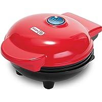 Dash DMG001RD Mini Maker Portable Grill Machine + Recipe Guide