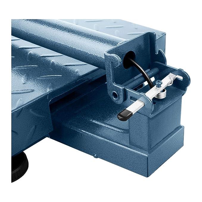 Steinberg Systems Báscula De Plataforma Bascula Industrial de Suelo SBS-PF-100/10B (100 kg / 10 g, Plataforma De Pesaje: 40 x 30 cm, Retroiluminación ...