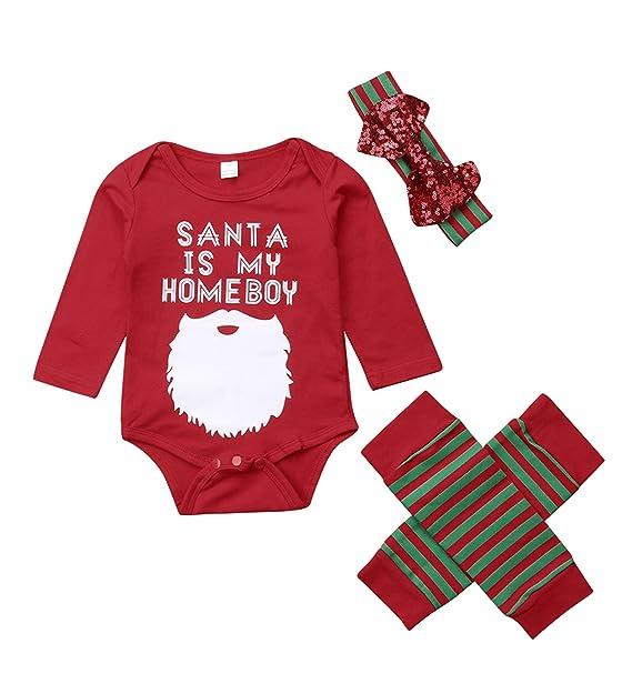 Amazon.com: Disfraz de Navidad de Papá Noel con texto en ...