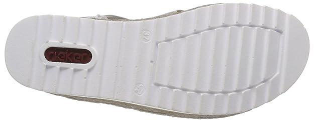 Rieker Damen V3266 Geschlossene Sandalen