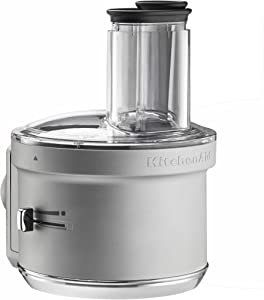 KitchenAid KSM2FPA Food Processor Attachment, Dicing Kit, Silver