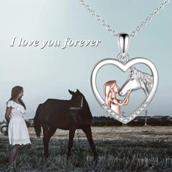Multicolor Party Silver Plated Wholesale Horse New Jewelry Sets Gifts Pendant