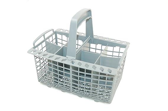 Amazon.com: Hotpoint lavaplatos Gris – Cesta de cubiertos ...