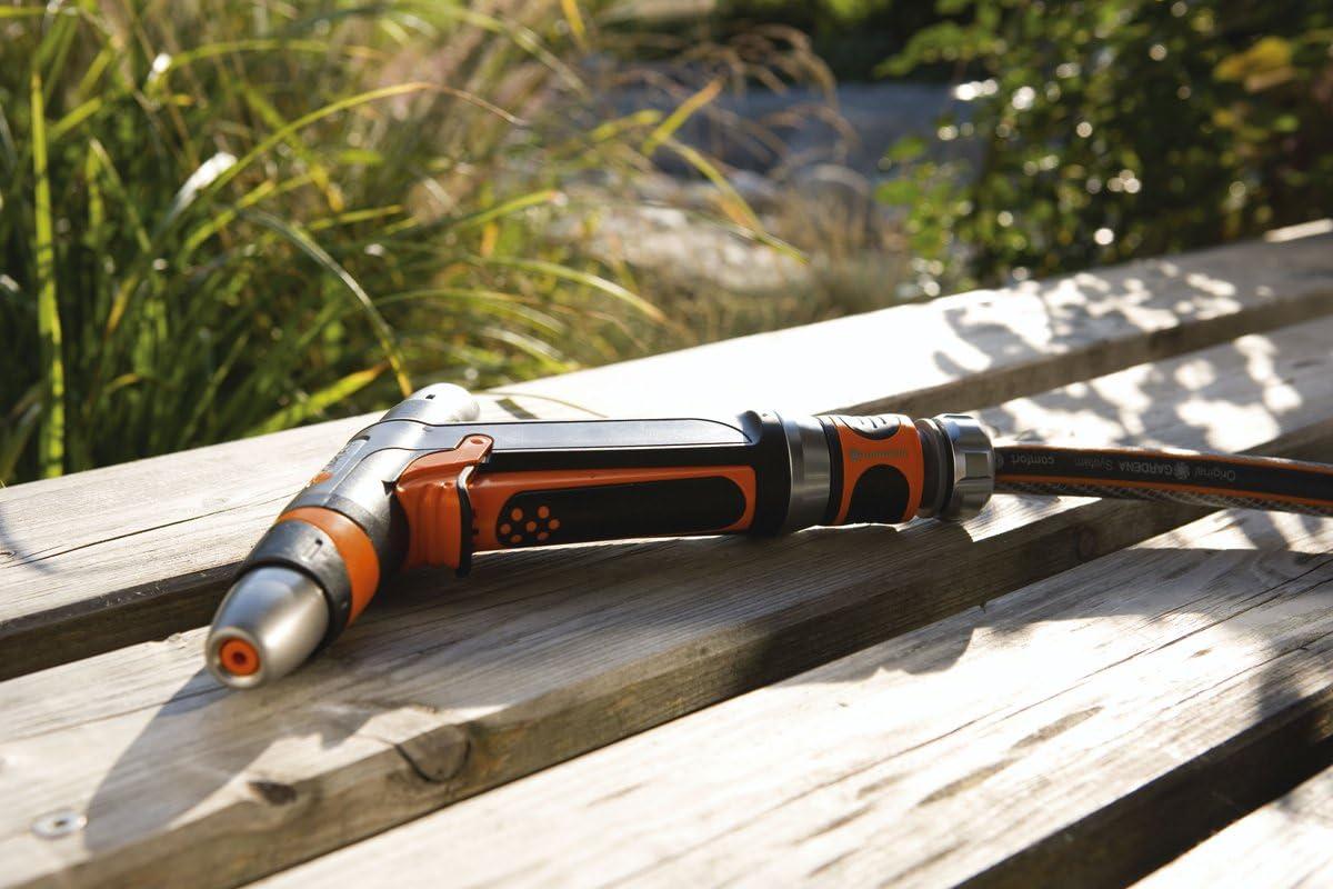 Gardena M94729 - Pistola Metalica multichorro 8101-20: Amazon.es ...