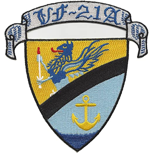 Amazon com: Navy VF-21A Fighter Squadron Patch: Clothing