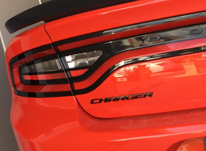 CARRUN 3D Car Emblem For CHARGER Emblem OEM Letters Stickers Badges Decal for Dodge Charger Chrysler Mopar Finish Red