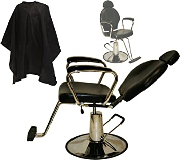 LCL Beauty Hydraulic Lift Reclining All Purpose Barber Styling Chair