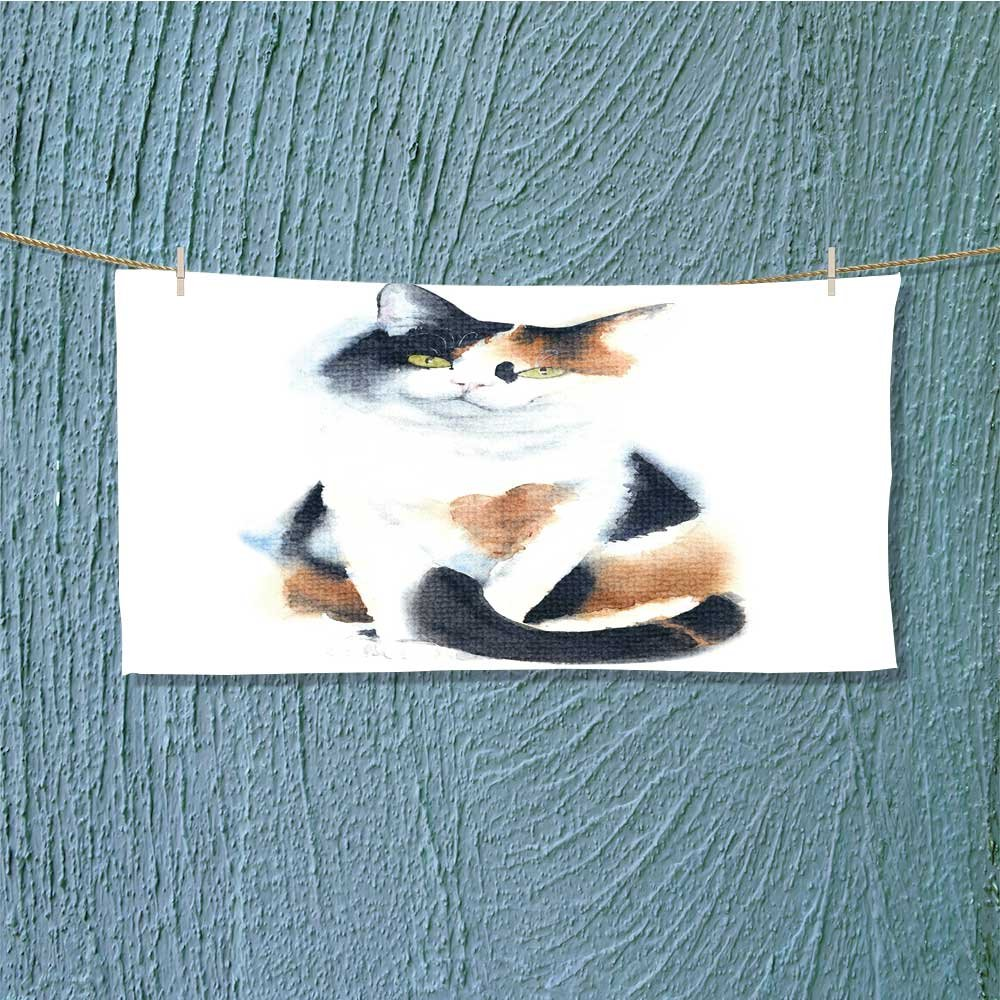 AmaPark Super Absorbent Towel cat and Dog in Paper Side Torn Hole Isolated Ideal for Everyday use L35.4 x W11.8 INCH by AmaPark