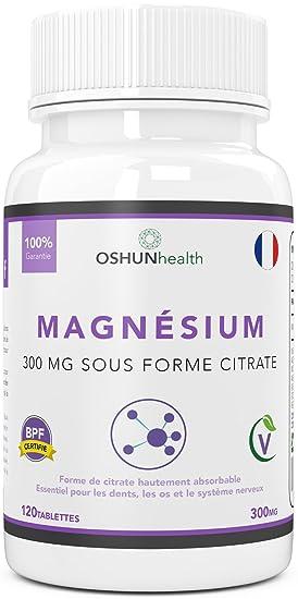 le citrate de magnesium de formule