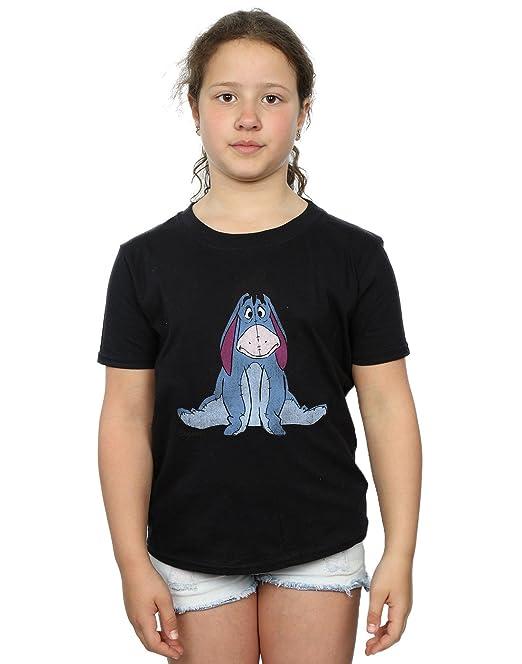 97f9ef952cdb Disney Girls Winnie The Pooh Classic Eeyore T-Shirt  Amazon.co.uk  Clothing
