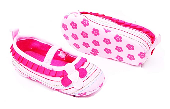 a69380f688180 AkinosKIDS Infant Baby shoes hot sale flower elastic shoes newborn shoes  antiskid baby girl boots Kids