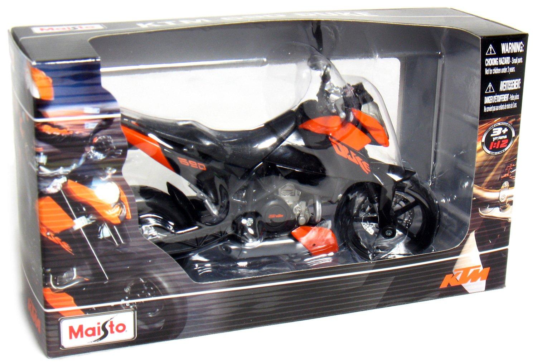 Amazon Com Maisto 1 12 Scale Motorcycle Ktm 690 Duke Toys Games
