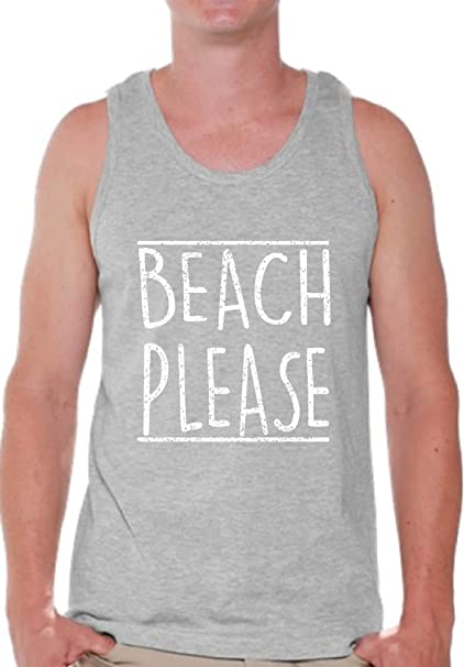 09987be2d631 Pekatees Summer Vibes Tank Top Summer Vacation Vibes Tank for Men Vacation  Gifts Beach Please S
