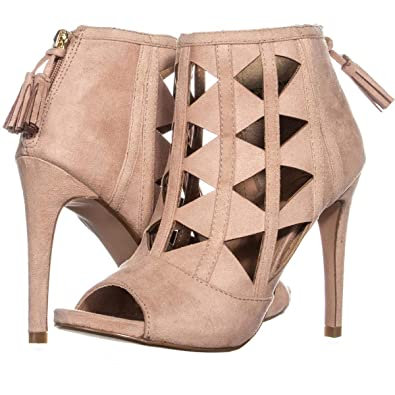 7d9144e036c Amazon.com   XOXO Womens Charisma Suede Open Toe Casual Ankle Strap ...