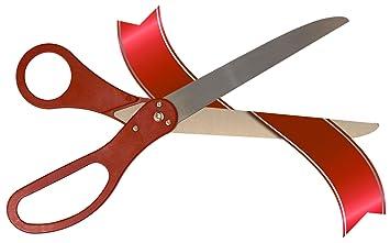amazon com ribbon cutting scissors by wonder scissors toys games