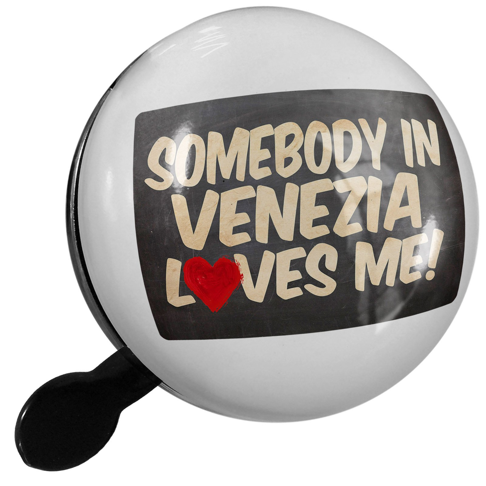 Small Bike Bell Somebody in Venezia Loves me, Italy - NEONBLOND