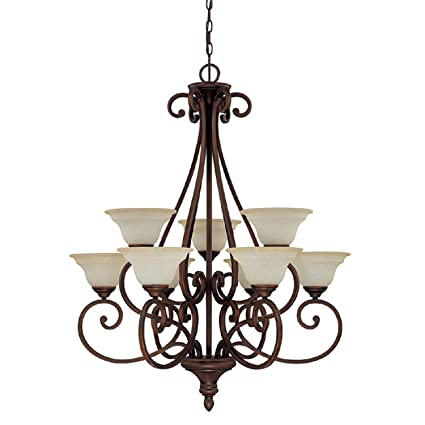 capital lighting 3079bb 292 chandelier with mist scavo glass shades