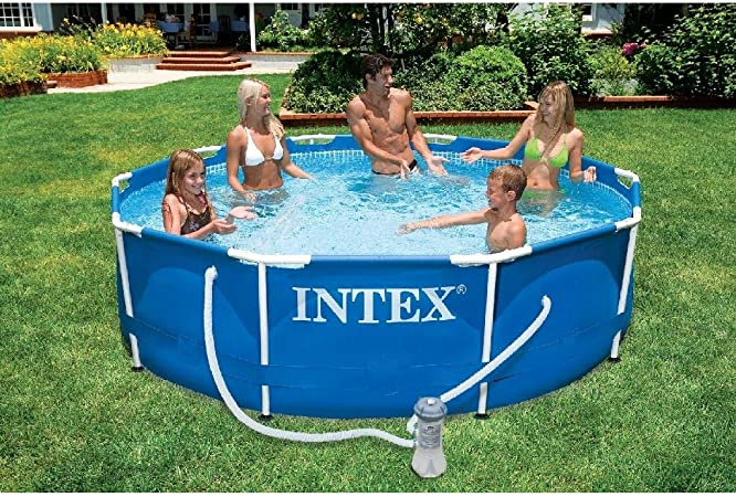 Intex 56999GS - Piscina tubular (circular), 305 x 76 cm