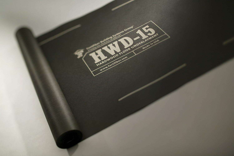 432sf roll Fortifiber Hardwood Floor Underlayment HWD-15