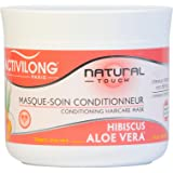 Activilong Natural Touch Masque Soin Conditionneur Hibiscus et Aloe Vera Bio 200 ml