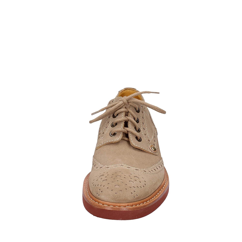 CESARE PACIOTTI 308 MADISON Elegante Schuhe Herren Wildleder Wildleder Wildleder beige da166f