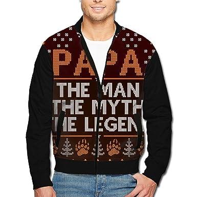 xinyunjl mens ugly christmas color block varsity jacketsrnwindproof zip up for gym at amazon mens clothing store - Christmas Jackets