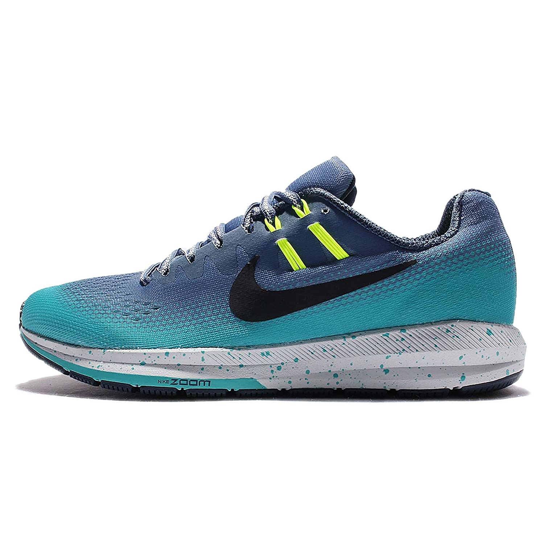 Nike Women's Air Zoom Structure 20 Shield Running Shoe B01N1WGRBT 7.5 B(M) US|Ocean Fog/Black-gamma Blue-volt
