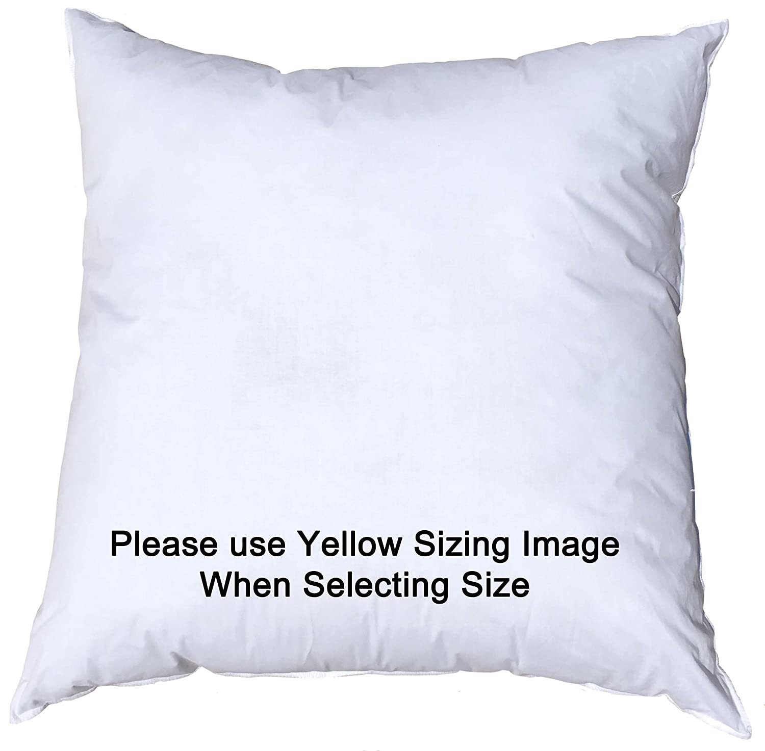 Amazon 14x14 inch pillowflex premium polyester filled pillow amazon 14x14 inch pillowflex premium polyester filled pillow form insert machine washable square made in usa home kitchen falaconquin