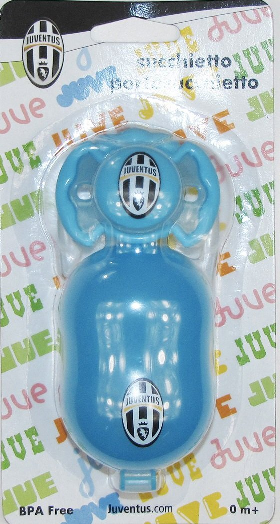 Chupete y porta chupete Juve oficial Juventus FC * 03607 ...