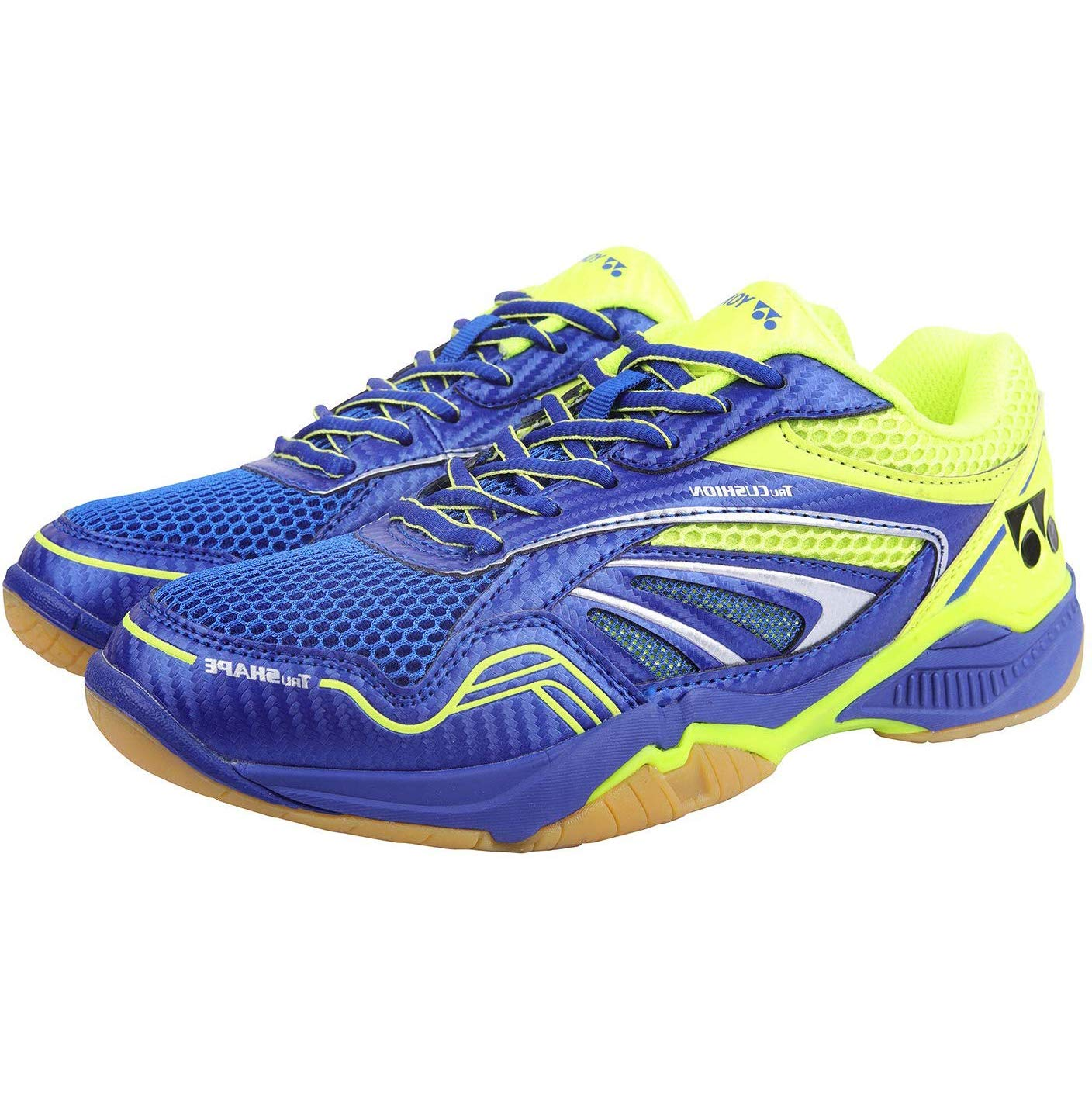 Yonex C-Ace Light Badminton Non Marking Shoes, Blue/Neon/Lime Green - 6 UK (B07ZLRZ5JT) Amazon Price History, Amazon Price Tracker