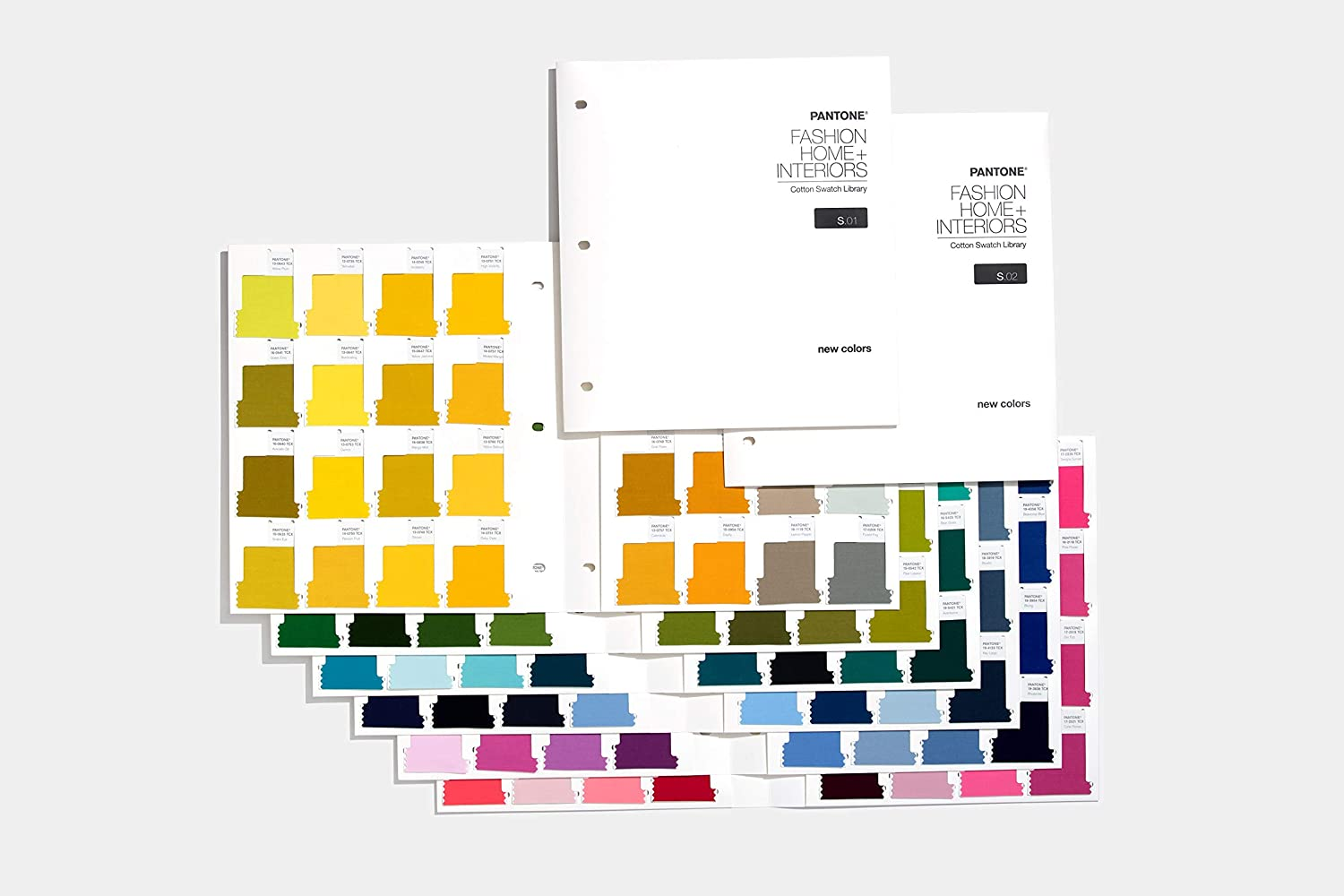 Pantone FHIC110A Swatch Library Supplement Cotton Passports, New