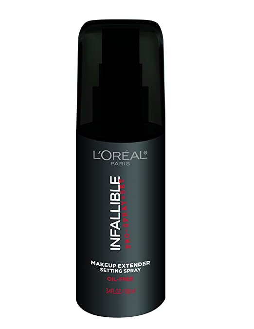 L'Oreal Paris Cosmetics Infallible Pro-Spray and Makeup Extender, Setting Spray,