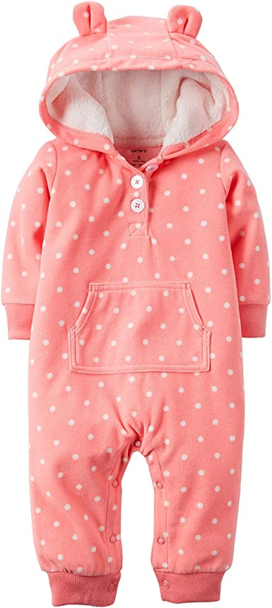 Coral-9 Months Carters Microfleece Pants Baby