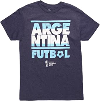 Fifth Sun World Cup 2018 Argentina Stacked Adult T-Shirt