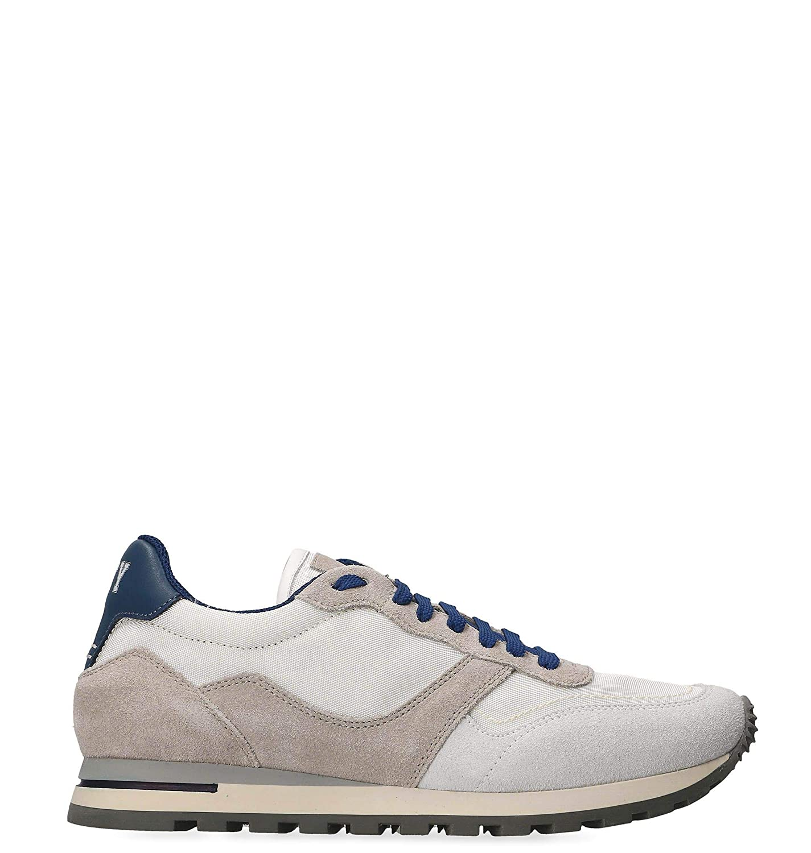 - ELEVENTY Men's 979SR0196SCA2701200 White Suede Sneakers