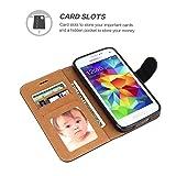 Galaxy S5 Case, SOWOKO [Book Style] Samsung S5