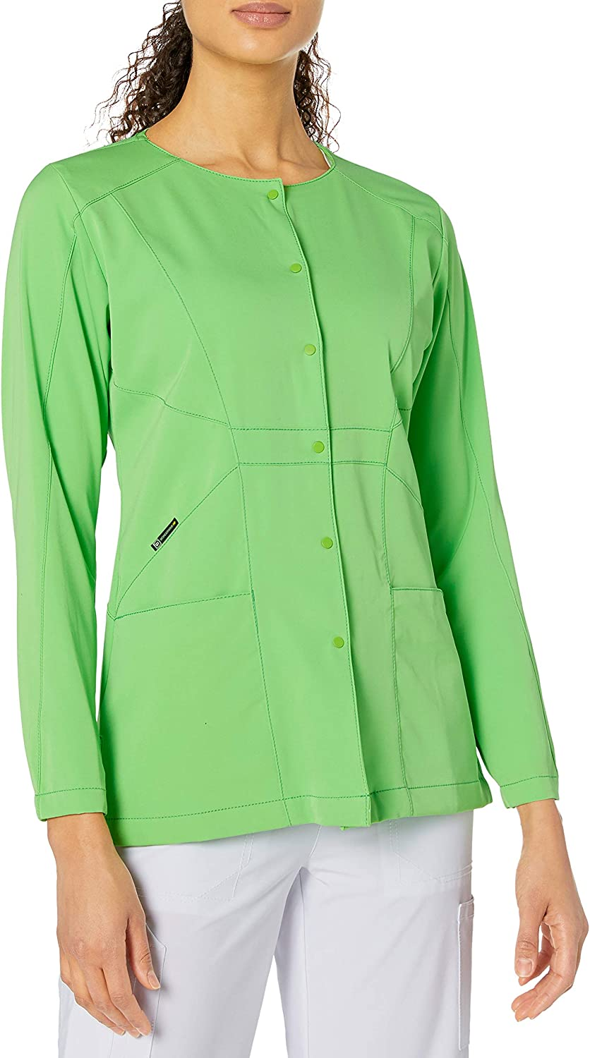 WonderWink Hp Prism Snap Front Women's Scrub Jacket