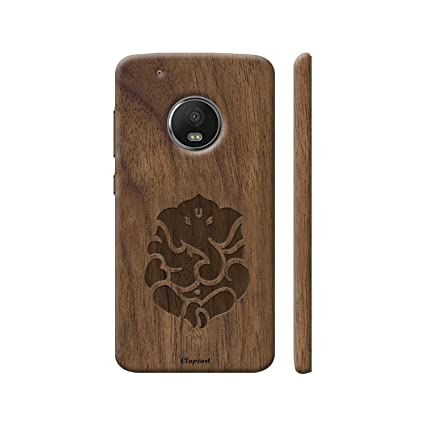 check out 153a6 cc094 Clapcart Moto G5 Plus Wooden Designer Printed Hard Back Case Cover for  Motorola Moto G5 Plus/Moto G 5 Plus/Moto G 5th gen - Wooden Color (Lord ...