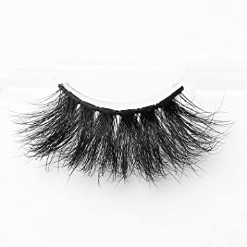3337cee6b04 Amazon.com : Arimika Handmade Thick Dramatic 25mm Extra Long 3D Mink False  Eyelashes 1 Pair Pack in Style S66,No Glue Included : Beauty
