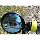 Hafny Bar End Bike Mirror, HD, Blast-Resistant,...