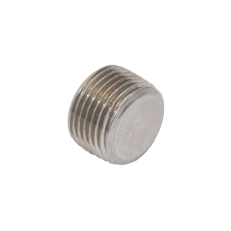 Joyway 3Pcs Stainless Steel Internal Hex Countersunk Thread Socket Pipe Plug 1//8 NPT Male