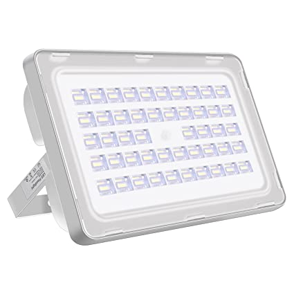 Viugreum 150W LED Fluter aussen, LED Aussenstrahler Kaltweiss(6000K - 6500K), 18000LM, IP65 Wasserdicht LED Scheinwerfer mit