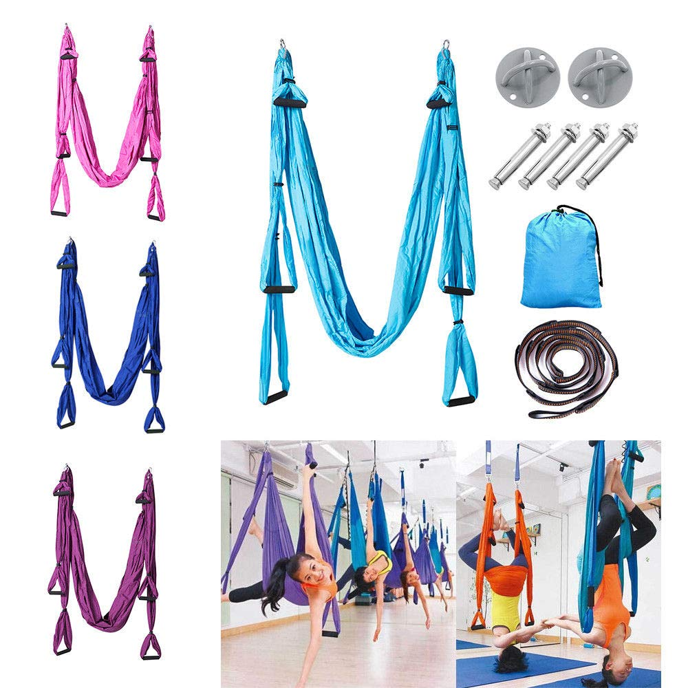 Eternal Cover Yoga Swing Hammock Strap Anti Gravity BS